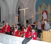 Julkonsert Spjutstorps Badorkester 130103