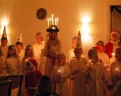 Luciafirande i församlingshemmet